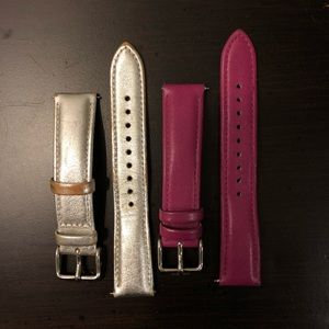 Fossil 18mm Leather Watch Bands